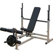 Body Solid GDIB46L Olympic Weight Bench with Leg Developer