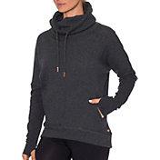 Betsey Johnson Performance Women's Funnel Neck Pullover Fleece Sweatshirt