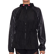 Betsey Johnson Performance Women's Embossed Windbreaker Jacket
