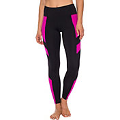 Betsey Johnson Performance Women's Spacedye Insert Brushed Back Leggings