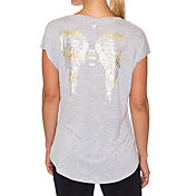Betsey Johnson Performance Women's Wings Wedge T-Shirt
