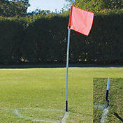 BSN Sports Segmented Soccer Corner Flags - 4 Pack