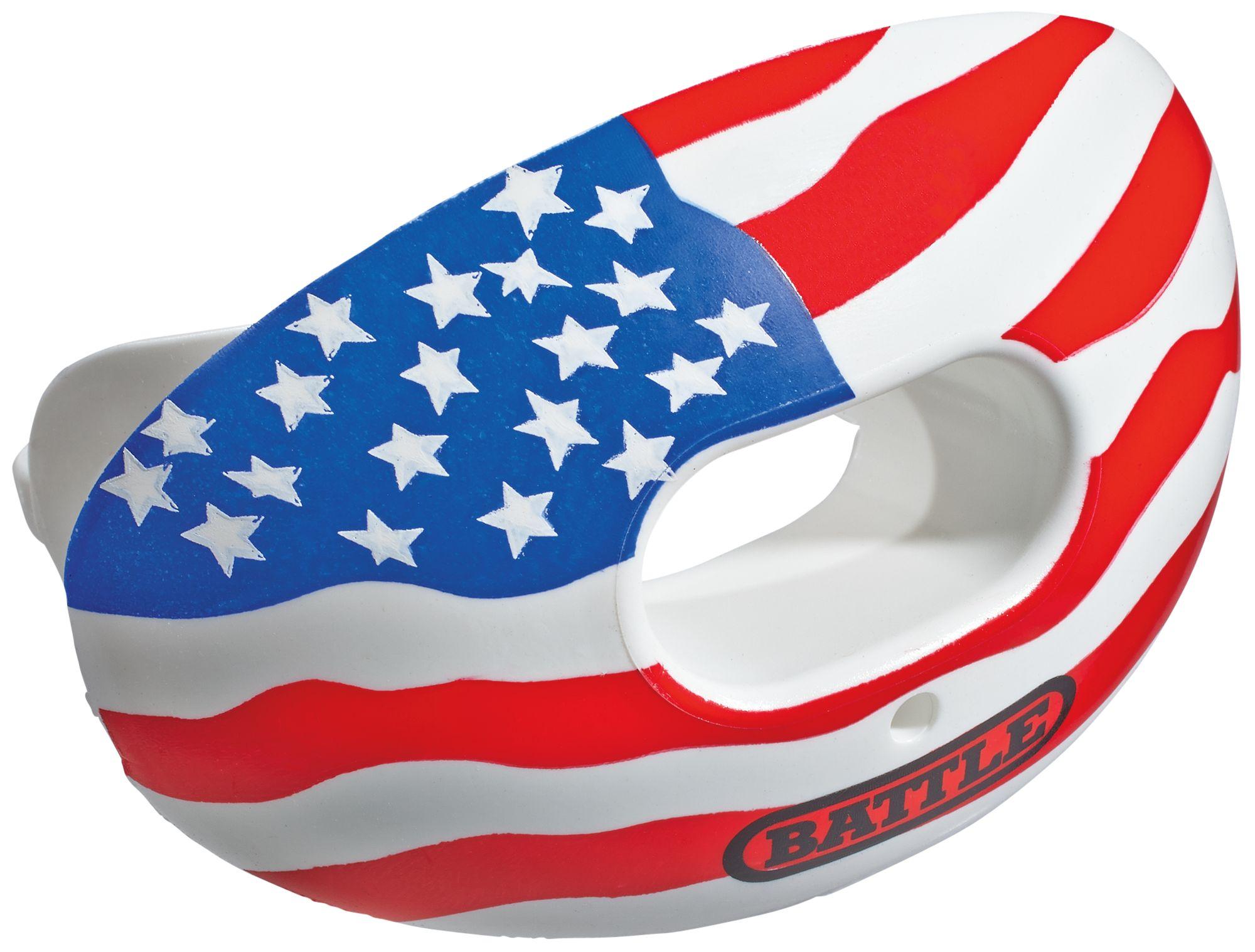 Battle Oxygen American Flag Convertible Mouthguard Dick
