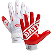 Battle Youth Hybrid Football Receiver Gloves