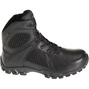 "Bates Men's Strike 6"" Waterproof Side Zip Work Boots"