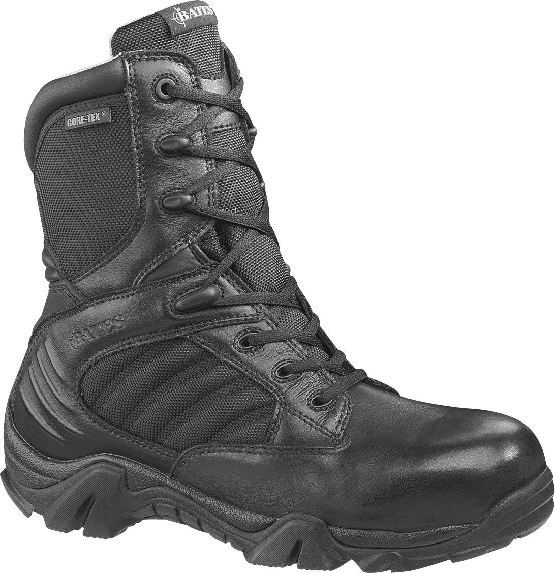 Bates Men's GX-8 8'' GORE-TEX Composite Toe Side Zip Tactical Boots. 0:00.  0:00 / 0:00. noImageFound ???