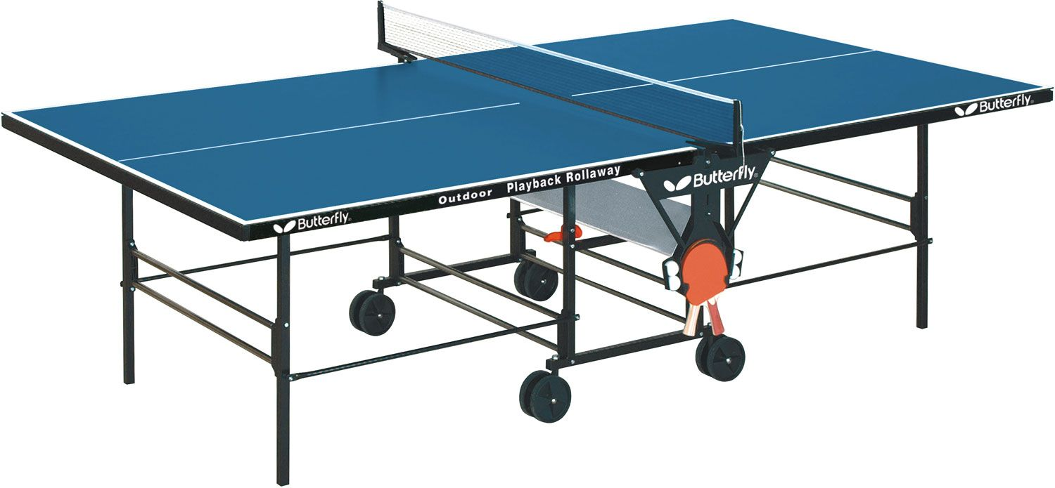 Product Image · Butterfly Outdoor Playback Rollaway Table Tennis Table