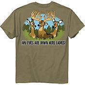 Buck Wear Men's Eyes Down Here T-Shirt