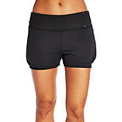 CALIA by Carrie Underwood Women's Two-In-One Mesh Shorts