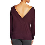 CALIA by Carrie Underwood Women's Dolman Long Sleeve Shirt