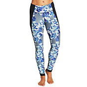 CALIA by Carrie Underwood Women's Printed Tulip Hem Leggings