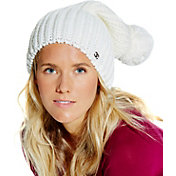 CALIA by Carrie Underwood Women's Cold Weather Slouchy Pom Beanie