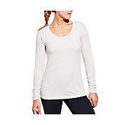CALIA by Carrie Underwood Women's Plus Size Essential Heather Long Sleeve Shirt