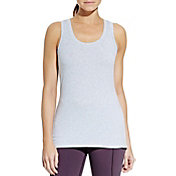 CALIA by Carrie Underwood Women's Plus Size Essential Heathered Tank Top