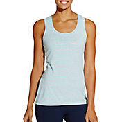 CALIA by Carrie Underwood Women's Plus Size Essential Striped Tank Top