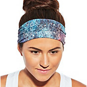 CALIA by Carrie Underwood Women's Wide Knit Elastic Printed Headband