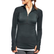 CALIA by Carrie Underwood Women's Warm Quarter Zip Long Sleeve Shirt