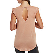 CALIA by Carrie Underwood Women's Flutter Sleeve T-Shirt