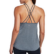 CALIA by Carrie Underwood Women's Move Flowy Strappy Striped Tank Top