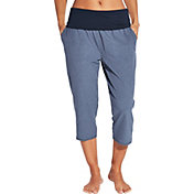 CALIA by Carrie Underwood Women's Plus Size Heather Anywhere Foldover Waist Capris