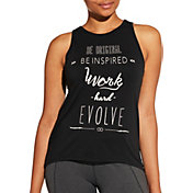 CALIA by Carrie Underwood Women's Flow Loop Back Graphic Tank Top