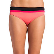 CALIA by Carrie Underwood Women's Blocked Bikini Bottoms