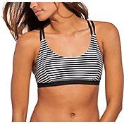 CALIA by Carrie Underwood Women's Printed Strappy Bikini Top