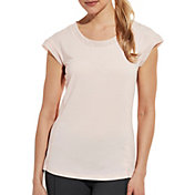 CALIA by Carrie Underwood Women's Petal Hem T-Shirt