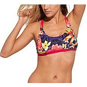 CALIA by Carrie Underwood Women's Strappy Bikini Top