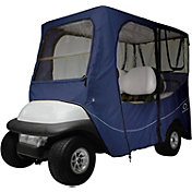 Classic Accessories Fairway Deluxe Long Golf Cart Enclosure – Navy