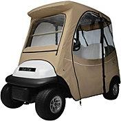 Classic Accessories Fairway Precedent Short Golf Cart Enclosure – Khaki