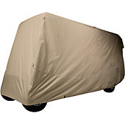 Classic Accessories Fairway Quick-Fit Extra Long Golf Cart Cover - Khaki