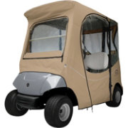 Classic Accessories Fairway FadeSafe Yamaha Golf Cart Enclosure – Khaki