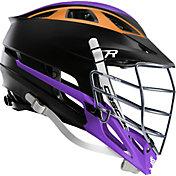 Cascade Custom R Matte Lacrosse Helmet w/ Chrome Mask
