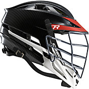 Cascade Custom R Carbon Fiber Lacrosse Helmet w/ Chrome Tungsten Mask
