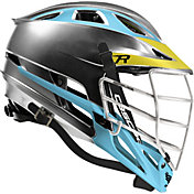 Cascade Custom R Platinum Lacrosse Helmet w/ White Pearl Mask