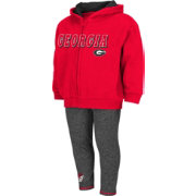 Colosseum Athletics Girls' Georgia Bulldogs Toddler Hurdler Two-Piece Set