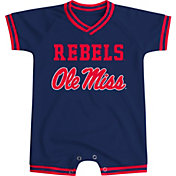 Colosseum Athletics Infant Ole Miss Rebels Blue Super Fan II Onesie