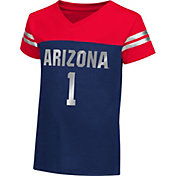Colosseum Athletics Toddler Girls' Arizona Wildcats Navy Nickel T-Shirt