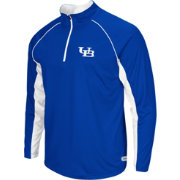 Colosseum Athletics Men's Buffalo Bulls Blue Airstream Quarter-Zip Windshirt