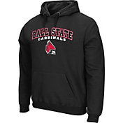 Colosseum Athletics Men's Arkansas Razorbacks Black Secondary Fleece Hoodie