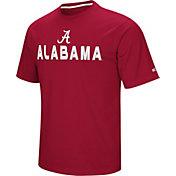 Colosseum Athletics Men's Alabama Crimson Tide Crimson Pique Performance T-Shirt