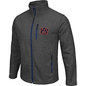 Colosseum Athletics Men's Auburn Tigers Grey Backfield II Jacket
