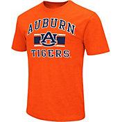Colosseum Athletics Men's Auburn Tigers Orange Dual-Blend T-Shirt