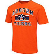 Colosseum Men's Auburn Tigers Orange Dual-Blend T-Shirt