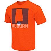 Colosseum Athletics Men's Auburn Tigers Orange State of the Union T-Shirt