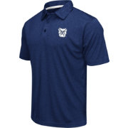 Colosseum Men's Butler Bulldogs Blue Heathered Performance Polo