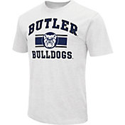 Colosseum Men's Butler Bulldogs White Dual-Blend T-Shirt