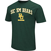 Colosseum Men's Baylor Bears Green Team Slogan T-Shirt