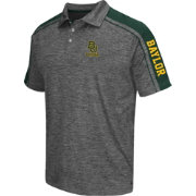 Chiliwear Men's Baylor Bears Grey Birdie Polo